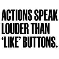 Actions speak louder than 'Like' buttons | QS PRN