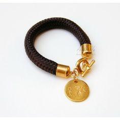 Brown Love Rope Toolittle Bracelet #rope bracelet