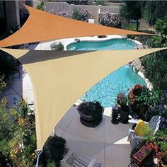 There are lots of pergola designs for you to choose from. First of all you have to decide where you are going to have your pergola and how much shade you want. Pool Shade, Backyard Shade, Outdoor Shade, Patio Shade, Pergola Shade, Backyard Canopy, Garden Canopy, Outdoor Pool, Patio Roof