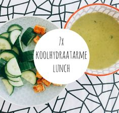 koolhydraatarme lunch Healthy Diet Recipes, Clean Recipes, Veggie Recipes, Healthy Eating, Healthy Food, Low Carb Lunch, Low Carb Diet, Smoothie, Clean Lunches
