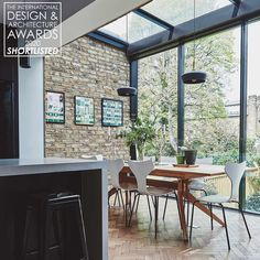 Light Oak Floors, House Extension Design, Glass Extension, Sweet Home, Open Plan Kitchen, Kitchen Diner Extension, Modern Interior Design, Contemporary Interior, Interior Ideas