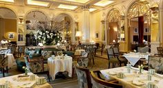 Claridge's in London for Afternoon Tea - don't forget: you have to make reservations months in advance!