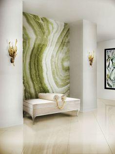 Ceylon Yellow Interior Design Color Trends Color Schemes Ideas – Home Decor İdeas Modern Interior Design Trends, Home Decor Trends, Decor Ideas, Decorating Ideas, Hallway Decorating, Yellow Interior, Interior Paint Colors, Modern Interior, Hall Interior