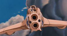 nausicaa gunship - Google Search