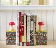Make Your Own DIY Gnome Bookends