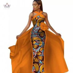 afrikanische kleider Not the original dress (photoshop). see below African Fashion Designers, African Fashion Ankara, African Inspired Fashion, African Print Dresses, African Print Fashion, Africa Fashion, African Dress, Fashion Prints, Nigerian Fashion