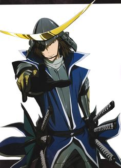 What? Are you reaching out for me, Masamune-sama? *smacked*