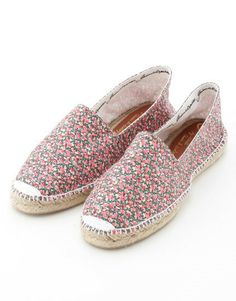 Gaimo Liberty London Espadrilles | Spanish Fashion - SPANISH SHOP ONLINE | Spain @ your fingertips #summer #shoes