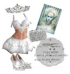 """""""Winters Queen"""" by mnr-jewel ❤ liked on Polyvore featuring art"""