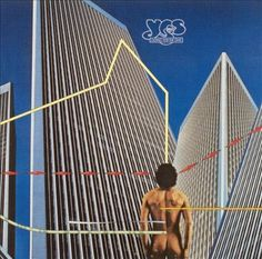 Yes, Going For The One, 1977. The album cover, designed by Storm Thorgerson of Hipgnosis, captured what the music was trying to say. A human heart amidst the coldness of technology or in Yes' terms, a return to basics after they had indulged in too much pomposity.
