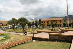 Parque de Samaca - antes