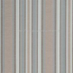 Blue And Brown Striped Bedroom florence in cream color with champagne gold stripes in poly blend