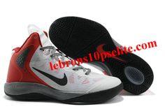 662f9a16ec771 Nike Zoom Hyperenforcer Black White Red Nba Basketball