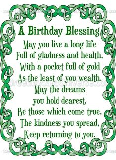 50 Happy Birthday Wishes Friendship Quotes With Images 2 Irish Birthday Wishes, Irish Birthday Blessing, Happy Birthday Wishes Friendship, Birthday Prayer, Happy Birthday For Her, Birthday Verses, Birthday Blessings, Happy Birthday Funny, Happy Birthday Quotes