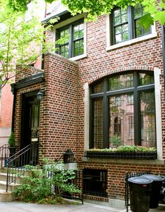 House on Montague Street, Brooklyn Heights, NY