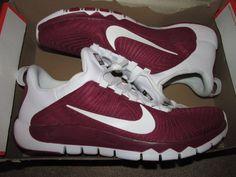 Nike Free Trainer 5.0 TB Mens Training Shoes 15 Team Maroon White 644676 602 #Nike #RunningCrossTraining
