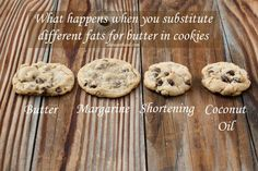 Substituting in chocolate chip cookies
