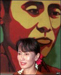 Ahn Suu Kyi - great freedom fighter