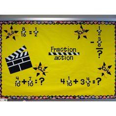 Fraction action bulletin board