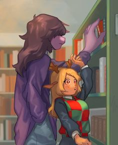 Sii~ Q-T ¿me- me puedes pasar ese libro? (-////O) toma -^- gracias >n< Undertale Ships, Undertale Fanart, Undertale Comic, Vocaloid, Toby Fox, Yandere Simulator, Rwby, Cute Art, Fnaf