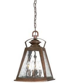 Minka Lavery 72294 Oxford Road 4 Light Outdoor Hanging Lantern