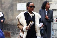 Shala Monroque, Paris Fashion Week Fall 2012
