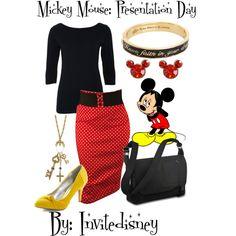 """Mickey Mouse: Presentation Day"" by invitedisney on Polyvore"
