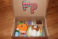 Letter 'P' Alphabet Box   Teaching Mama