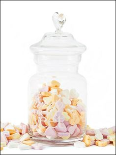 From 6 - 14 january, special #Valentine discount on the Sweets for my Sweet Storage Jar.