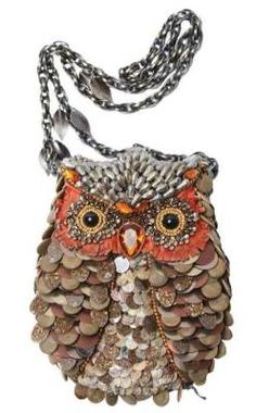 Victorian trading Co. - www.victoriantradingco.com - Mary Frances What a Hoot Owl Purse