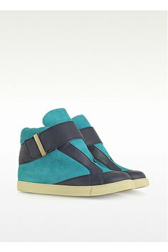 See By Chloé Samie Color Block Suede Sneakers, $398, available at Forzieri.