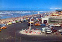 Praia de Atalaia final da decada de 1960 e inicio da decada de 1970, vendo-se o bar e restaurante Vaqueiro