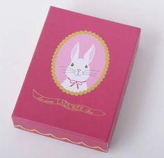 Laduree bunny keychain box. PD