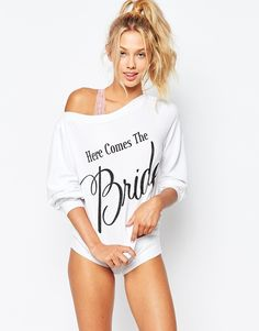 Wildfox Here Comes The Bride Lounge Jumper