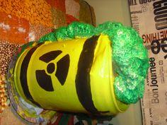 Bidó de residus nuclears per Eva i Salvi