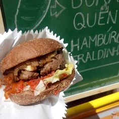 Hamburguer by Gabriel Lobo - BIG Chefs RUA Food Fair in Salvador/BA (Brazil)