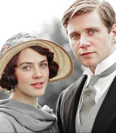 .Lady Sybil Crawley and Tom Branson (former chauffeur) marry--against Lord Grantham's wishes.