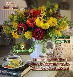 Good Morning, Table Decorations, Anul Nou, Home Decor, Buen Dia, Decoration Home, Bonjour, Room Decor, Home Interior Design