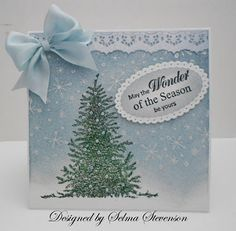Selma's Stamping Corner: Christmas Cards from the Past and a Give Away