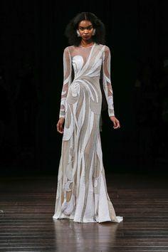 6b16bec7eabb Naeem Khan Bridal Fall 2017 Fashion Show. New Wedding DressesBeautiful ...