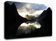 Lake Reflections landscape canvas from only £19.99 at Infusion Art http://www.infusionart.co.uk/products/Lake-Reflections-259513.aspx