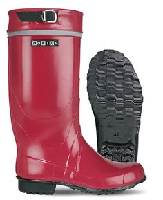 Nokia wellies from Finland. When I was young, you thought of wellies, not phones, when you heard the name Nokia.