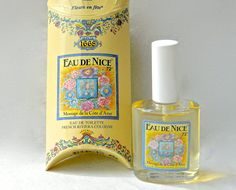Vintage EAU DE NICE Perfume Fleurs en Fete Perfume Eau de by ODONA