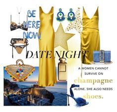 Date Night! xx by campaclara on Polyvore featuring polyvore, fashion, style, Galvan, Agent Provocateur, Miu Miu, Muzungu Sisters, GEDEBE, Ricardo Rodriguez, Lana, AERIN and clothing