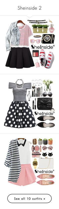 """""""Sheinside 2"""" by oshint ❤ liked on Polyvore featuring House of Harlow 1960, American Eagle Outfitters, Keds, Marc by Marc Jacobs, Yazbukey, NARS Cosmetics, Essie, Torre & Tagus, Topshop and Bling Jewelry"""