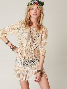 Thatched Fringe Dress at Free People Clothing Boutique Billabong fc719a4e0f