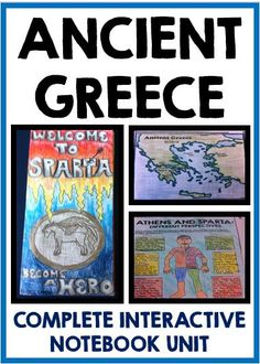 Ancient Greece: Complete Interactive Notebook Unit!