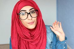 Hijab tutorial: Specs appeal. Wearing glasses with hijab can be tricky, so here's how you can get around those frames.