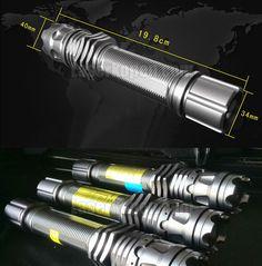 Laserpen blauw 5000mW met hoge prestaties