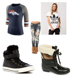 """""""Soft Stud Stylin' Sporty Chic"""" by florence-crum on Polyvore featuring adidas, NIKE, Converse and Burberry"""